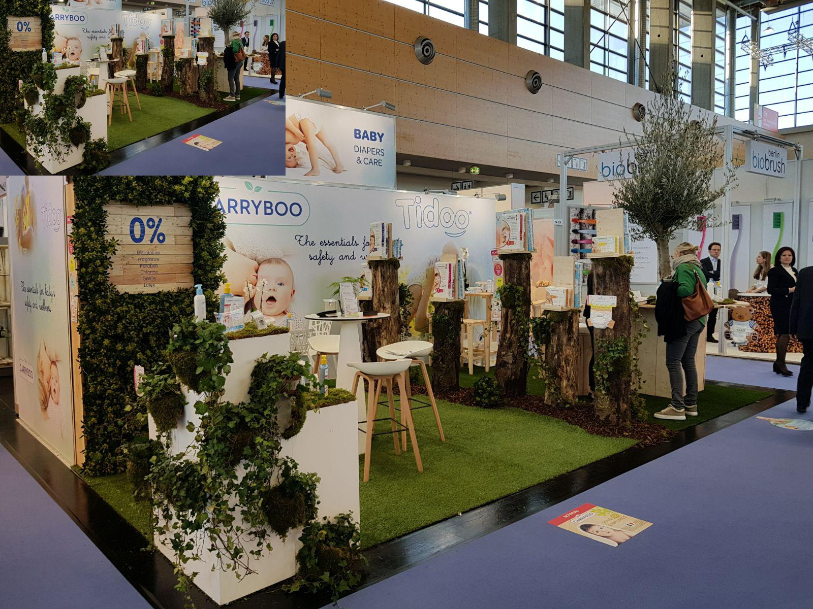 Stand sur mesure devellopement durable